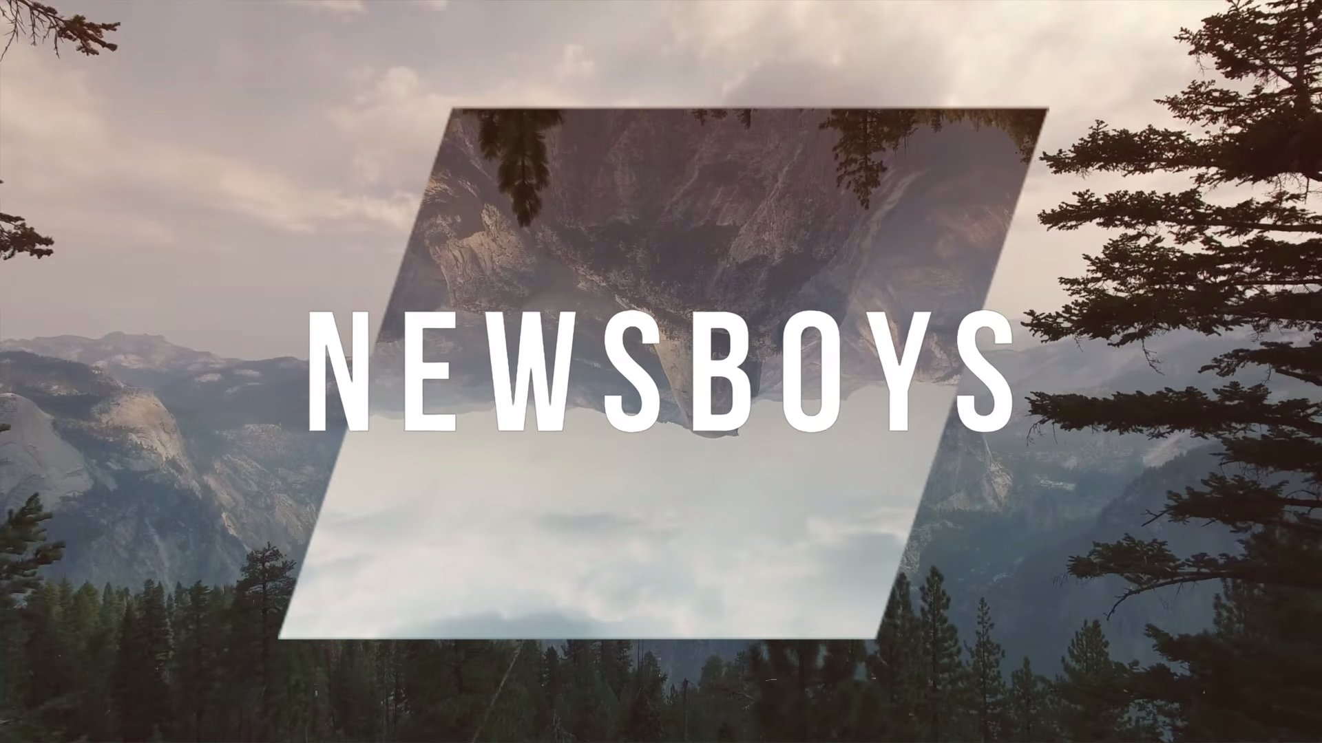 "Newsboys — ""You Hold It All (Every Mountain)"""