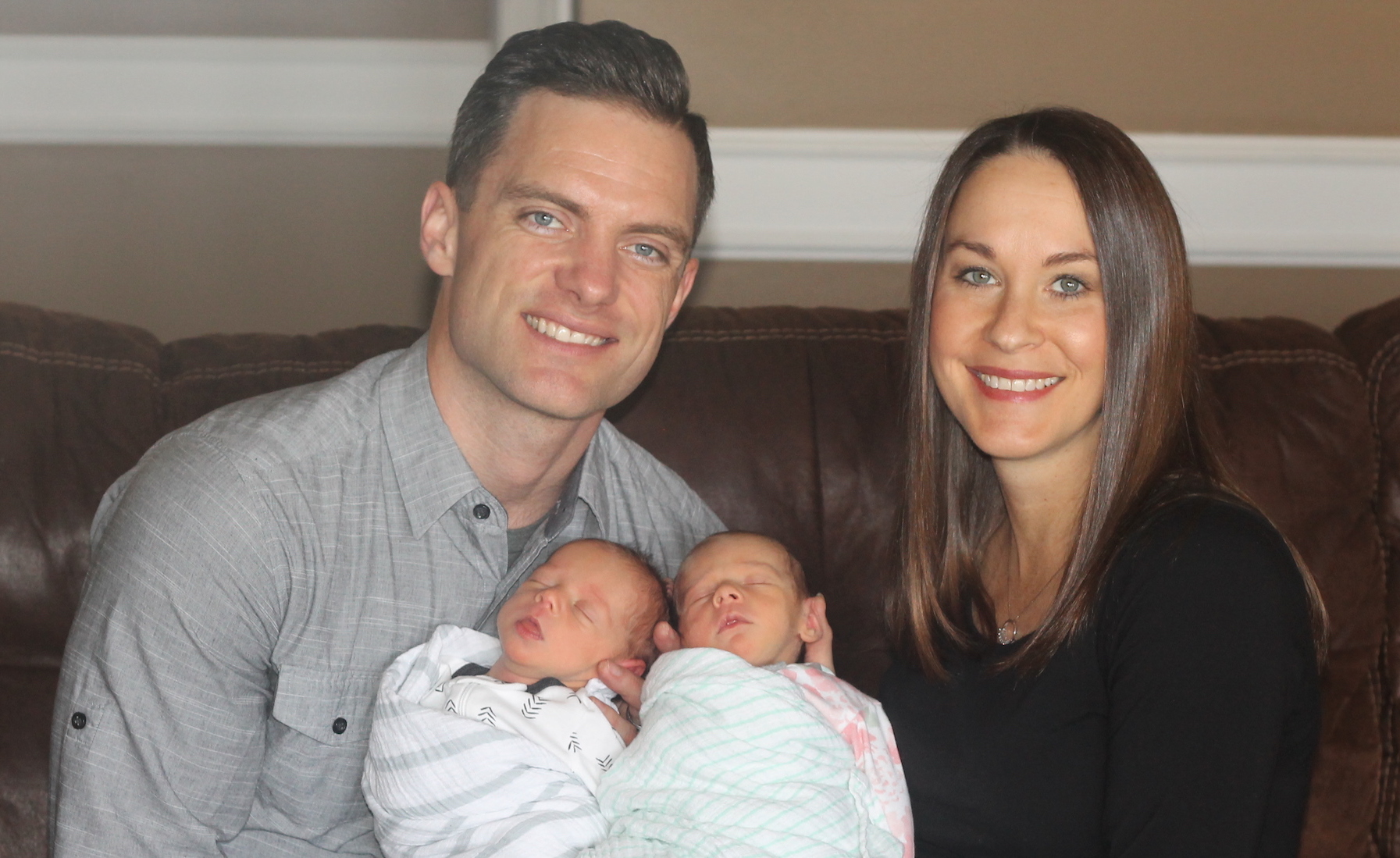 CANTON JUNCTION'S CASEY RIVERS WELCOMES TWINS