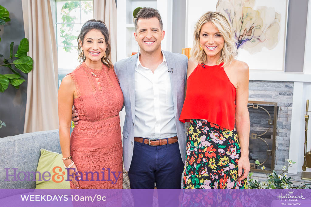 DAD TIRED AUTHOR JERRAD LOPES FEATURED ON  HALLMARK'S 'HOME & FAMILY'